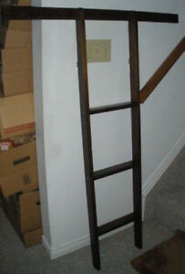 Solid Wood Ladder