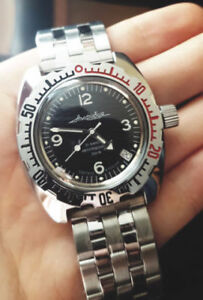 Vostok Amphibia dive watch russia (new, box and papers)