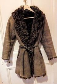 Beautiful vintage lambskin coat