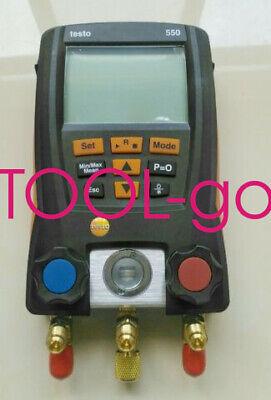 1pc New Testo 550 Refrigerant Digital Manifold Tester