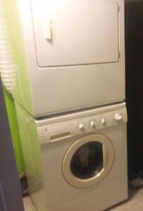 laveuse secheuse+transport /washer dryer+transportation