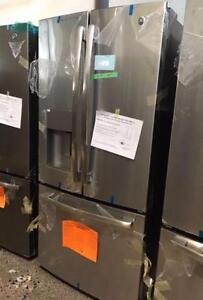 33'' Fridge, Stainless, French doors, Water&Ice Distributor