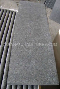 Jet Black Wall Coping Stone Natural Stone Coping Step Treads