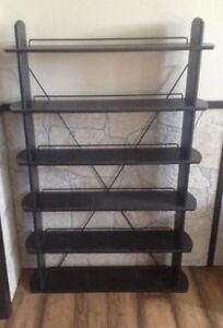 6 shelf unit for DVDs or CDs, books music or more