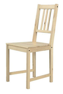 Stefan Ikea Chair - Natural wood colour