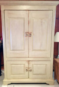 Solid Wood Armoire - Made in Quebec