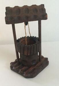 Petit puits en bois