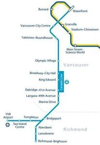 1 + Months for Furnished-ROOMs nearby VGH-hospital & SKYTRAIN
