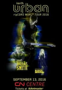 Keith Urban - ripCORD Tour - September 13th - Prince George