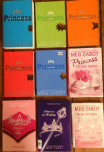 PRINCESS DIARIES BOOKS by MEG CABOT - Complete Series (9 books)