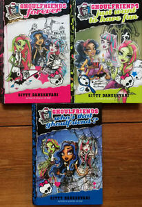 Hardcover MONSTER HIGH Ghoulfriends Books 1-3 $15