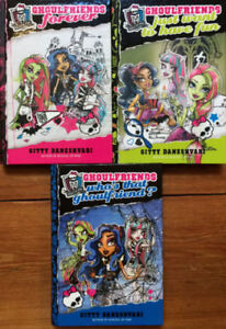 Hardcover MONSTER HIGH Ghoulfriends Books 1-3 $10