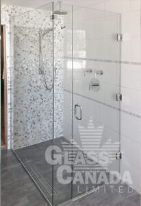 Custom Glass Shower Enclosures and Mirrors!