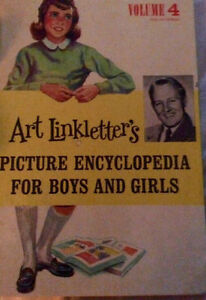 Signed Picture Encyclopedia for Boys and Girls Vol4