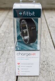 FITBIT Charge HR - Brand New and Boxed (Large)