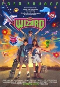 The Wizard Original Advanced Rare Nintendo Movie Poster