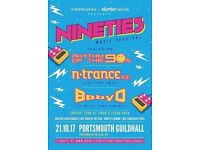 4 tickets to 90s festival this Saturday!