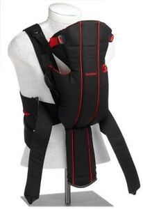 Babybjorn Baby Carrier Active - Black and Red - Lumbar support