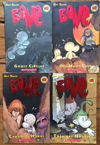 BONE graphic novels - 4 for $10