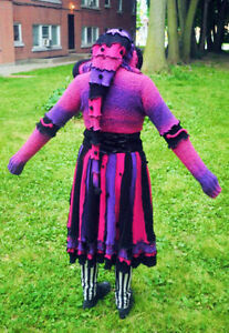 One of a kind Recycled Elf Etsy Pixie Sweater Coat! London Ontario image 2