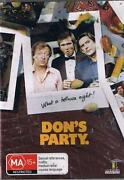 Don's Party DVD