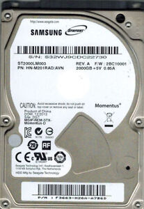 2TB SATA 2.5 LapTop Hard Drive for a Notebook or Macbook or PS4 London Ontario image 3