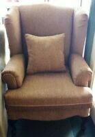New Wing Chairs Made In Canada $310-$330