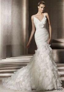 New wedding dress, never worn, Pronovias Galante London Ontario image 8