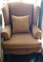 Beautiful New Wing Chair Made In Canada