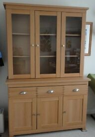 Cabinet - two pieces, use as a dresser or sideboard