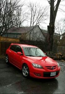 2007 Red MAZDASPEED3 Reduced Price $4500 Safetied & Etested