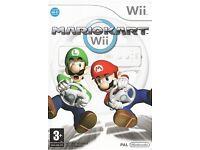Wii: Mario Kart Game & Wheels