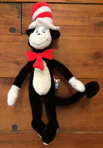 CAT IN THE HAT stuffed toy - great shape - $25 London Ontario image 1