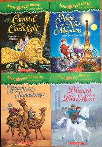 Magic Tree House MERLIN MISSION books 4 for $10