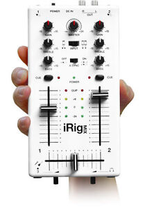 iRIG MIX MOBILE MIXER FOR iPHONE/iPOD/iPAD ONLY $64.99!