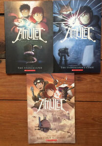 AMULET books 1-3 by Kazu Kibuishi 3 for $15