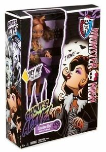 Monster High It's Alive Clawdeen Wolf. Makes Sounds! New in Box