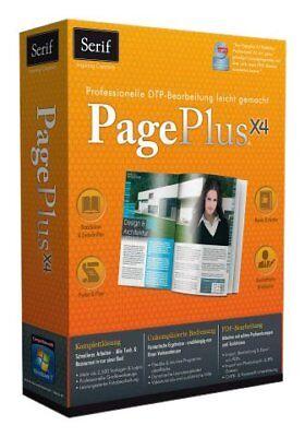PagePlus X4 Web-Design Gestalten + Entwerfen von Broschüren Einladungen