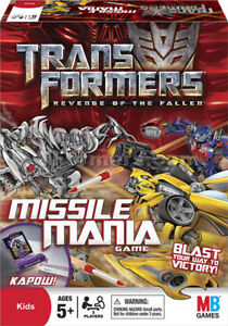 Transformers Revenge of the Fallen Missile Mania Game