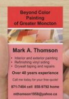 Interior/Exterior Painting and Drywall repair. 40+ years exper.