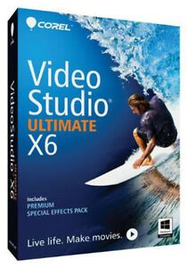 Corel Video Studio Ultimateorel Video Studio Ultimate X6 - BNIB