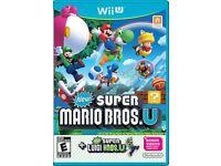 New Super Mario Bros. U & Super Luigi U - Wii U