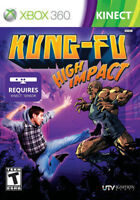 ***RARE*** KUNG-FU High Impact for KINECT Xbox 360  *** THE BEST