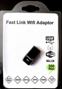 ADAPTER FOR IPTV USB WIFI WIRELESS B / G / N 300 MBPS
