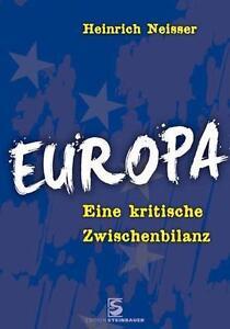Europa-von-Heinrich-Neisser-2014-Kunststoffeinband
