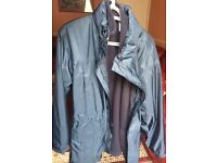 John Lewis Men's rain coat with fleece inside - RRP £120