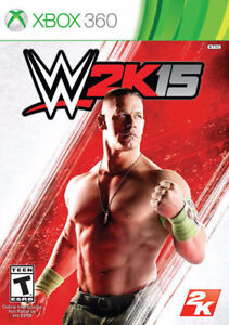 WWE 2k15 for XBOX 360 trading for PS4 game