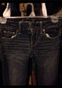 Brand name jeans- American eagle/hollister