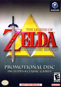 """Selling """"Zelda Colletor's Edition"""" game for Gamecube for 30$"""