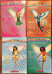 **FRENCH BOOKS** RAINBOW MAGIC fairy chapter books 4 for $10